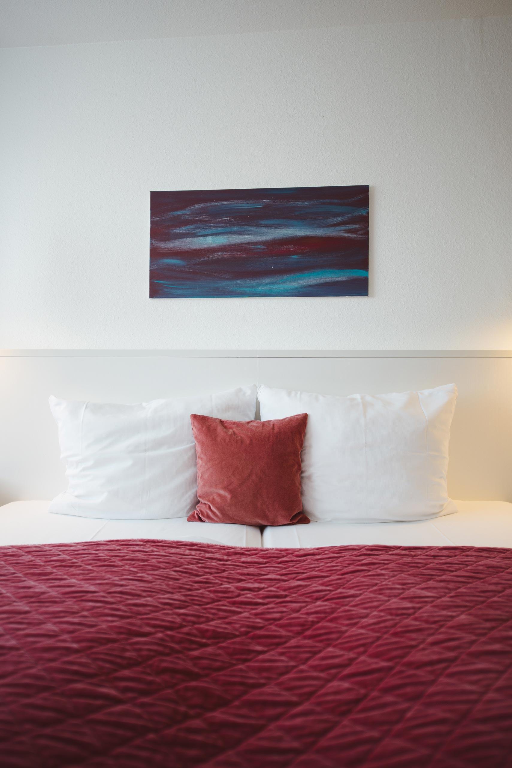 Impression eines M-Zimmers im meerzeit Hotel in Cuxhaven