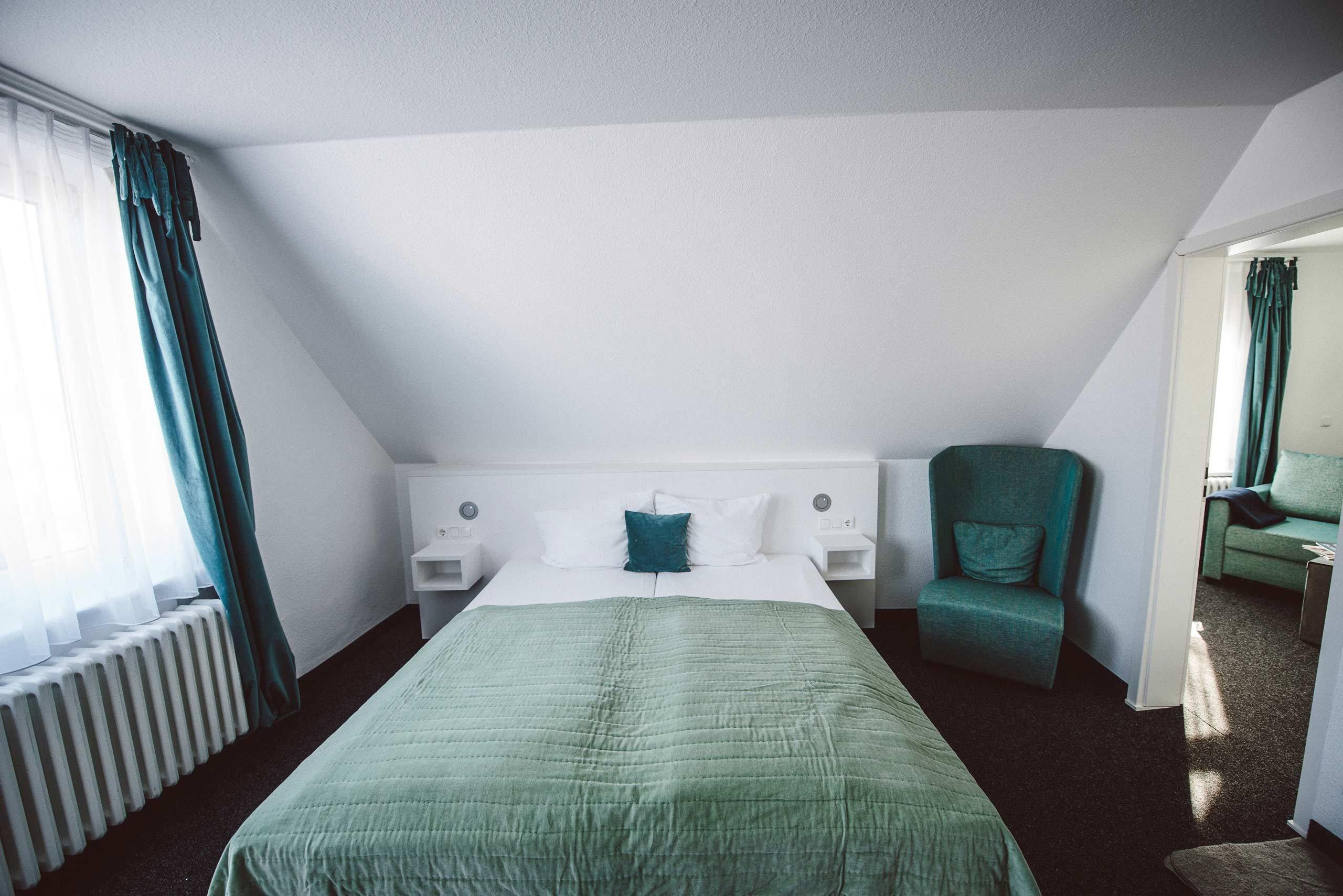XL Zimmer: Die Juniorsuiten im meerzeit Hotel in Cuxhaven